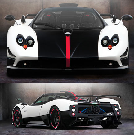 Pagani Zonda Roadster Cinque