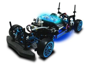 Chassi do carro movido a hidrogênio