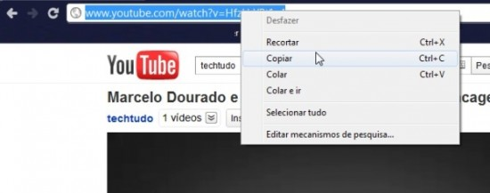 Como baixar vídeos do youtube sem programas - link