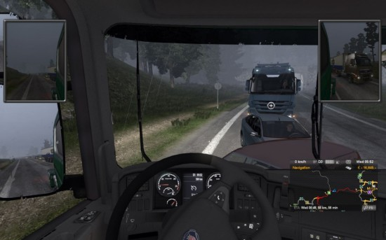 Euro Truck Simulator 2 accidents