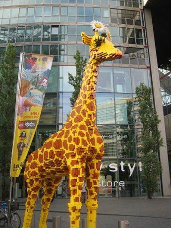 girafa de lego