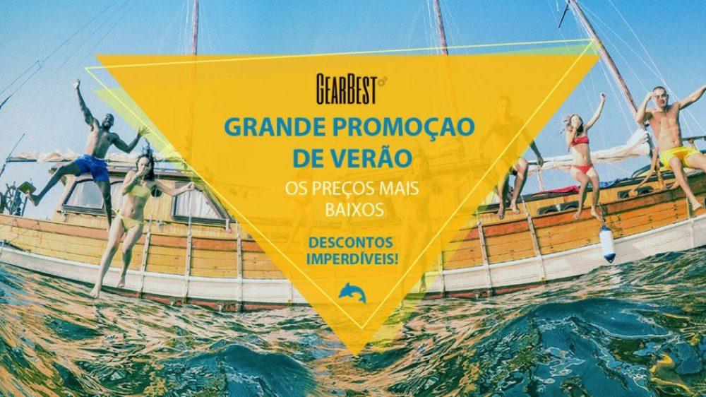 A melhor promoção da GearBest: The Summer Sale
