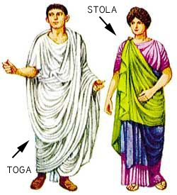toga and stola