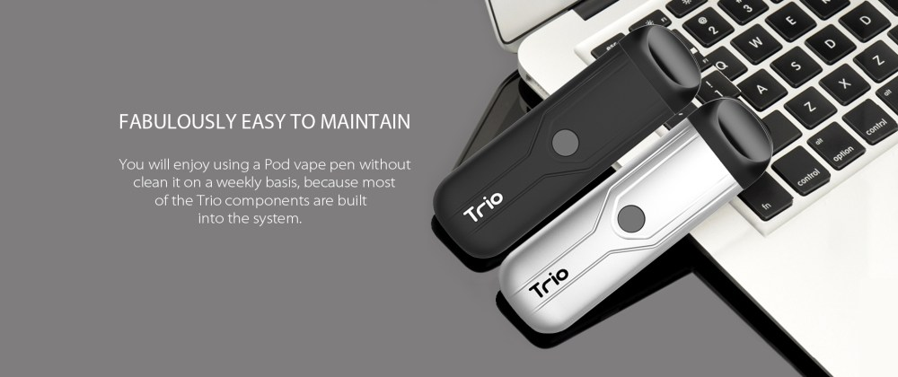 Yocan Trio Vape Pen is Fabulously Easy To Maintain