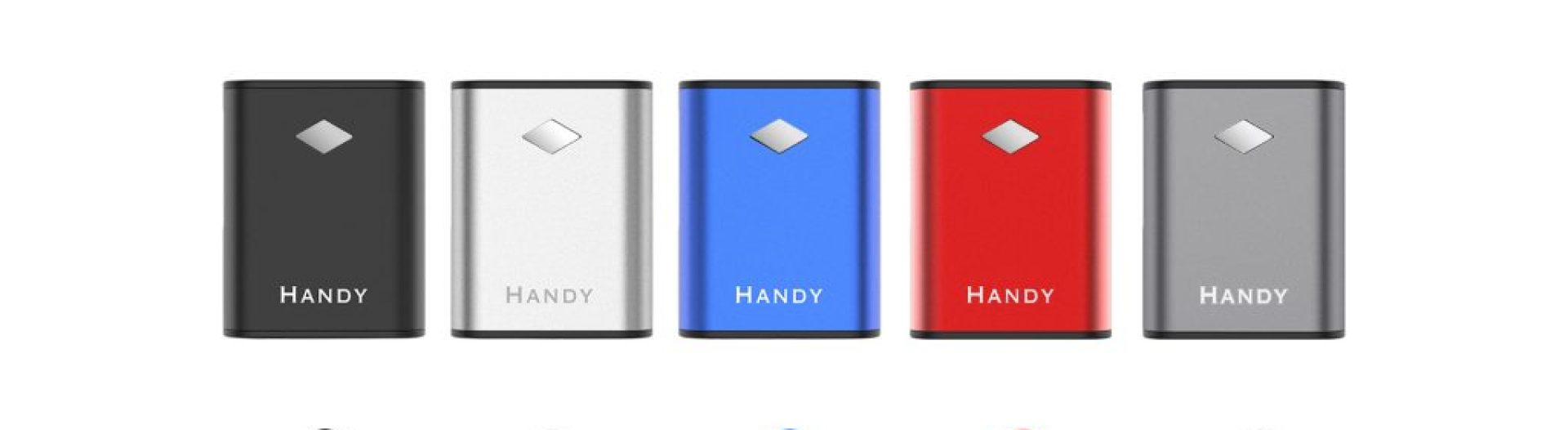 Yocan Handy Vape Battery come with 5 colors.