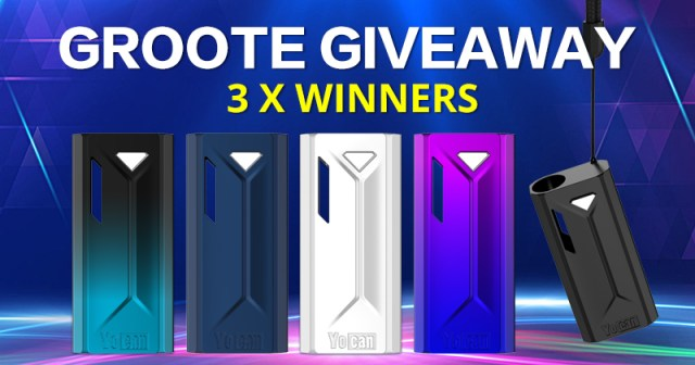 Yocan Groote Box Mod Giveaway