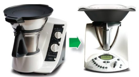 Equivalencia Thermomix tm31 y tm21