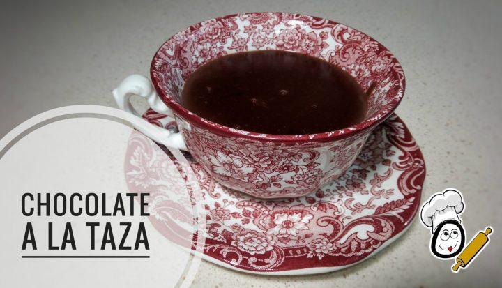 Chocolate a la taza en Thermomix