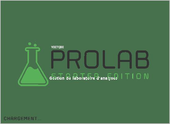Prolab Splash screen