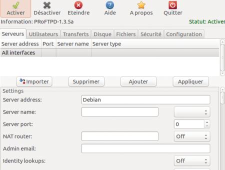 Gadmin ProFTPD FTP Server (Gproftpd)
