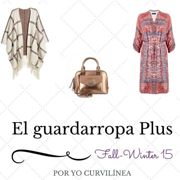 Curvy capsule wardrobe para Fall-Winter 2015