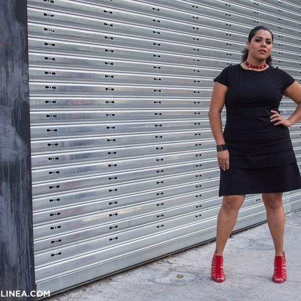 3 tips para elegir el vestido negro ideal para curvys