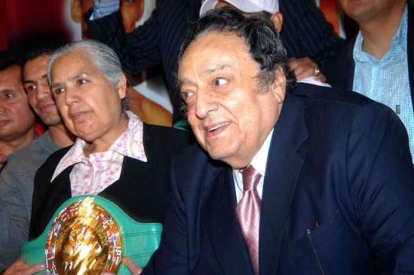 El martes 11 de febrero habrá un homenaje a José Sulaimán. Foto Notimez