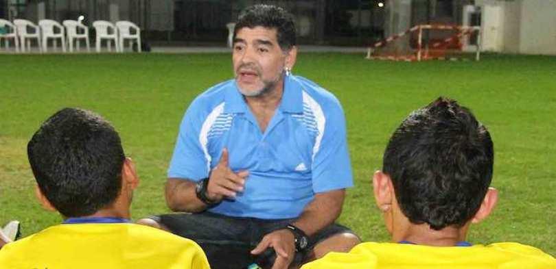 El primer partido de Diego Maradona con la selección argentina fue el 27 de febrero de 1977 en un juego ante Hungría.