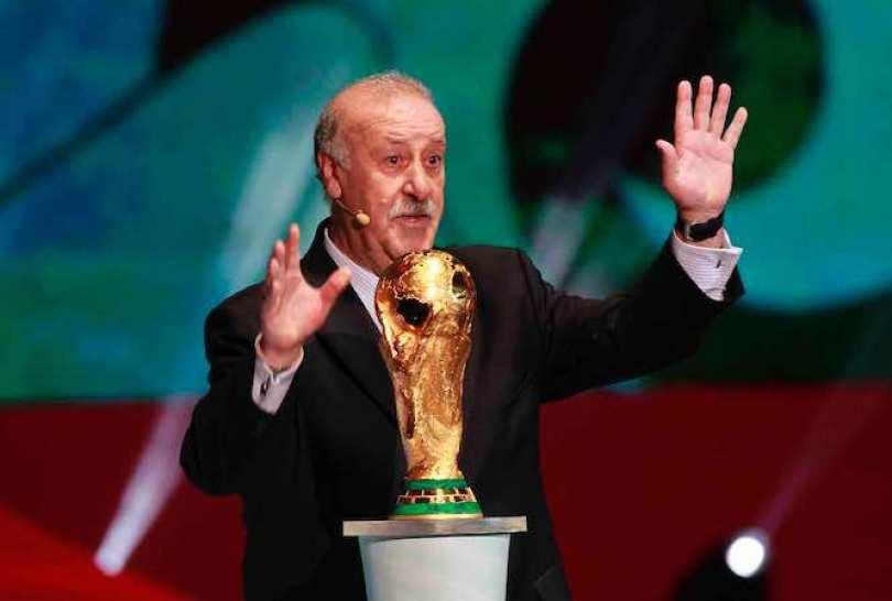 Vicente Del Bosque sabe que jugadores blancos y rojiblancos pueden ser compañeros en la próxima Copa del Mundo Brasil 2014. Foto Notimex