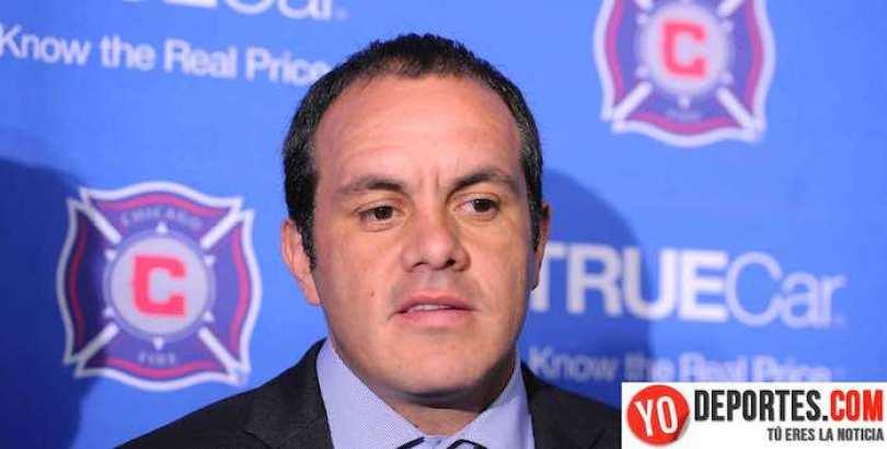 """Cuauhtémoc Blanco dijo que Rafa Márquez no tiene liderazgo para estar en el Tri, y el """"Kaiser"""" le respondió."""