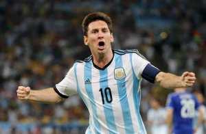Messi, un gran gol en su estreno en Maracaná
