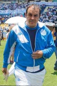 La directiva del club Puebla F.C., presentó a Cuauhtémoc Blanco, nuevo jugador del conjunto blanquiazul. Notimex