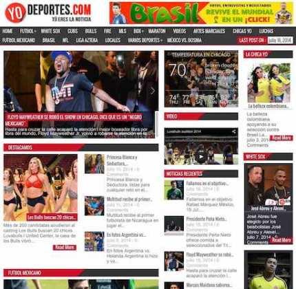 YoDeportes.com la página deportiva de Chicago