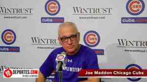 Joe Maddon Manager del Año 2015 con Chicago Cubs