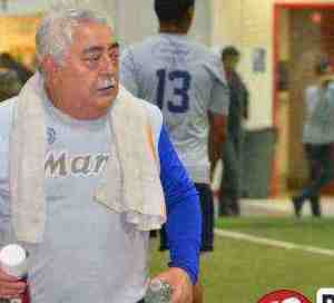 Ignacio Cruz el masajista de los futbolista de Chicago