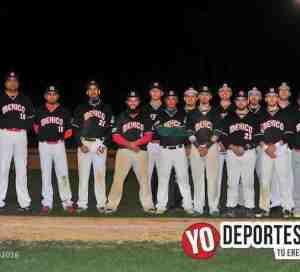 México debuta con derrota en Beisbol