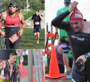 Latinos cumplieron el Triatlón de Chicago