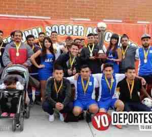 Marea Azul se queda con la copa en Regional Soccer Association