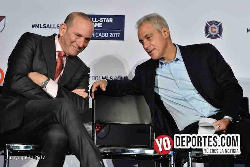 Don Garber-Rahm Emanuel-MLS Juego de estrellas chicago