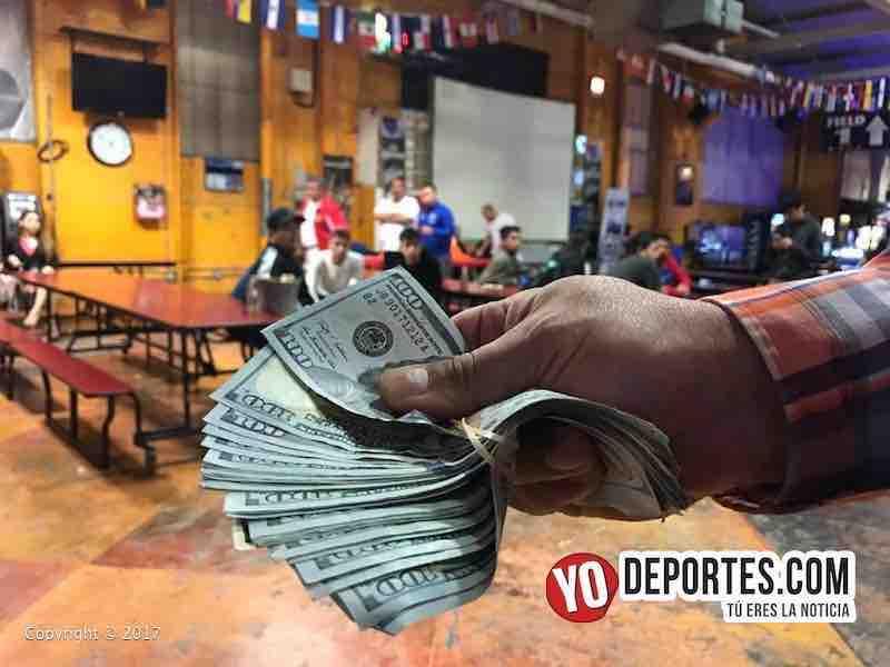 Mundi Soccer League Juan Jaramillo tres mil dolares