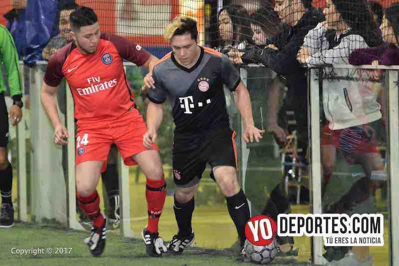 Xonacatla Jr contra Chicanos final la Liga de Matehuala en Melrose Park