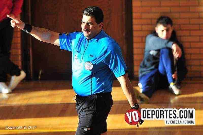 Arbitro-Otto Media-Lady Azteca-Manchester-Liga Club Deportivo Checa