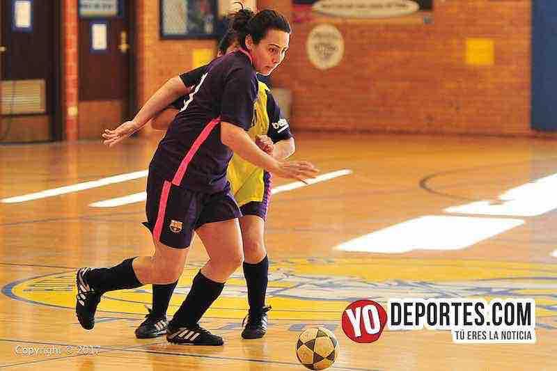 Barcelona contra FC Barza cuartos de final Liga Club Deportivo Checa en Chicago