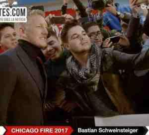 Apoteósico recibimiento a Bastian Schweinsteiger en Chicago