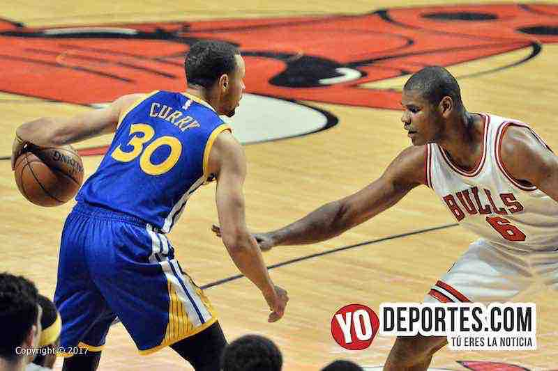 Cristiano Felicio-Stephen Curry-Chicago Bulls-Golden State Warriors