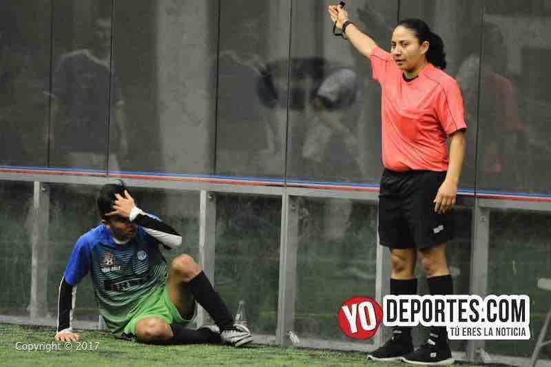 Rosalba Luna arbitro Ludoviko y su Banda-Southsidep-campeones-Liga San Francisco