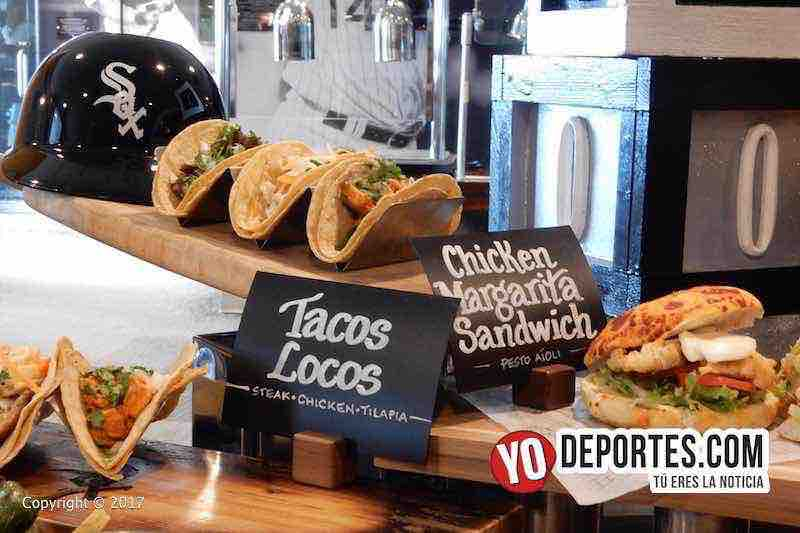 White Sox Media Tour Guaranteed Rate Field-Tacos Locos