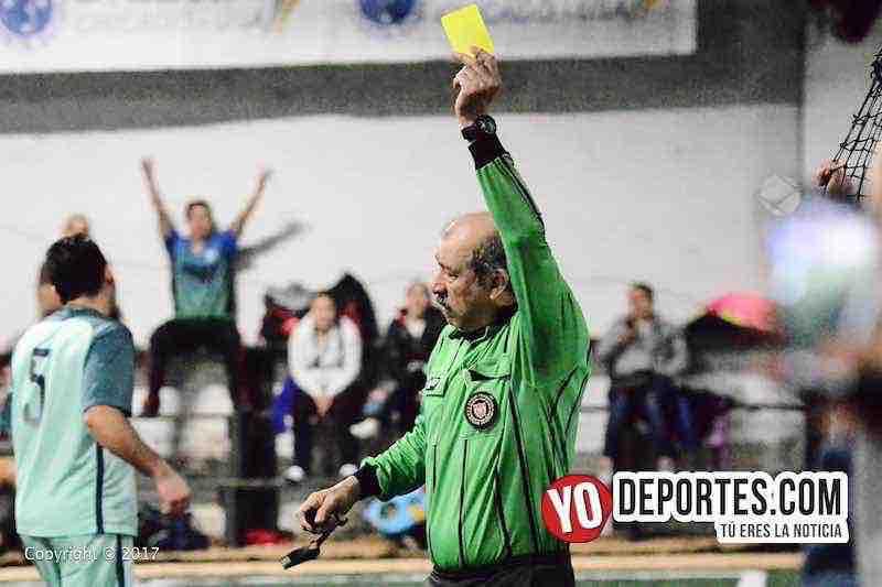 Arbitro Jorge Mendoza-La Juve-La Mangana-Fuerza Latina Soccer League