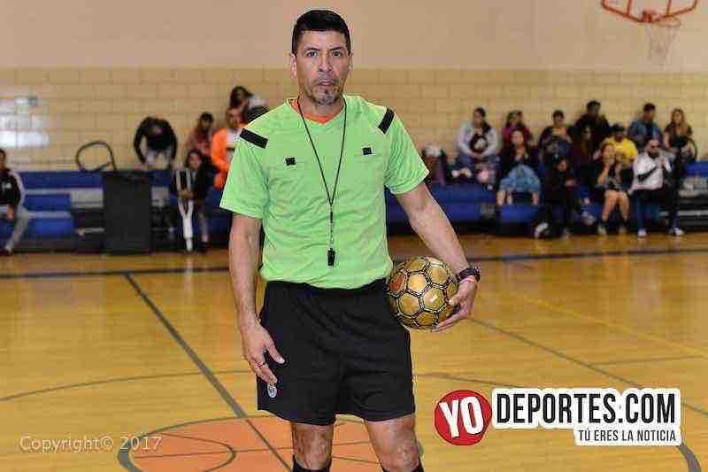 Arbitro Pedro Rodriguez-Internacional contra USA final Liga Diablitos
