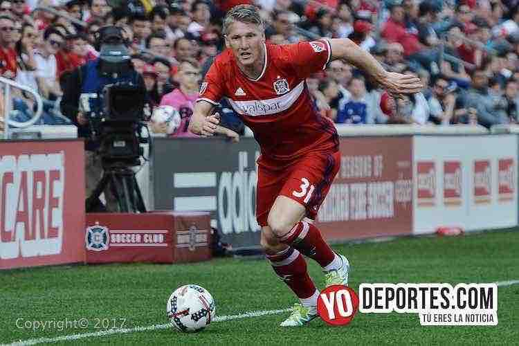 Bastian Schweinsteiger-chicago-new england revolution
