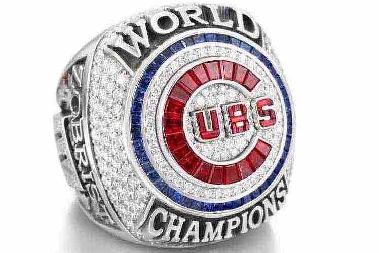 Chicago Cubs World Series ring ceremony
