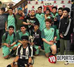 Gladiadores campeones U15 de la Liga Diablitos