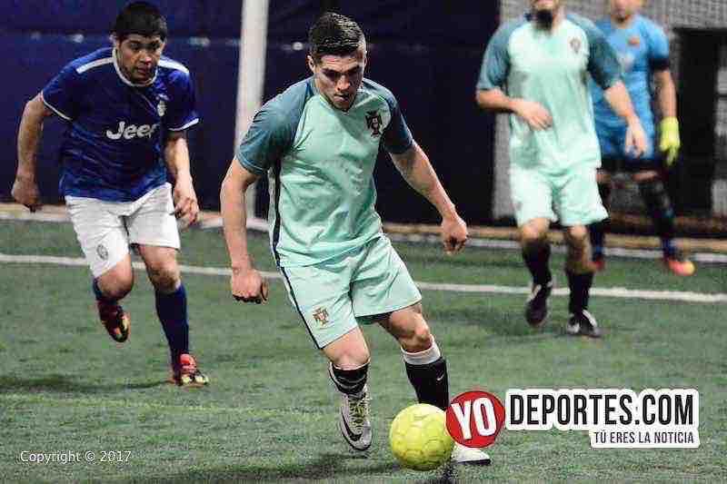 La Juve vs La Mangana semifinal de Fuerza Latina Soccer League