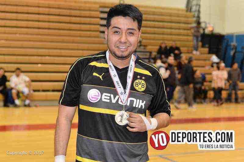 La Raza-Pumas-Liga MC de Chicago-Portero Eduardo Garcia