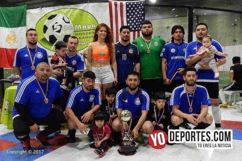 Osos campeones de Recopa en 5 de Mayo Soccer League