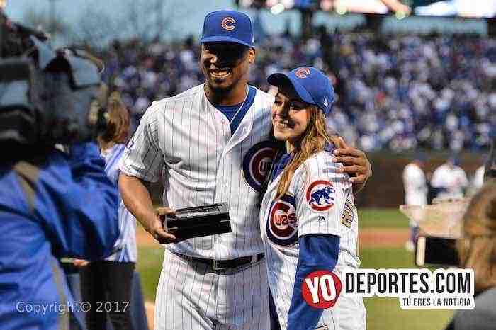 Pedro Strop-Chicago-Cubs ring ceremony