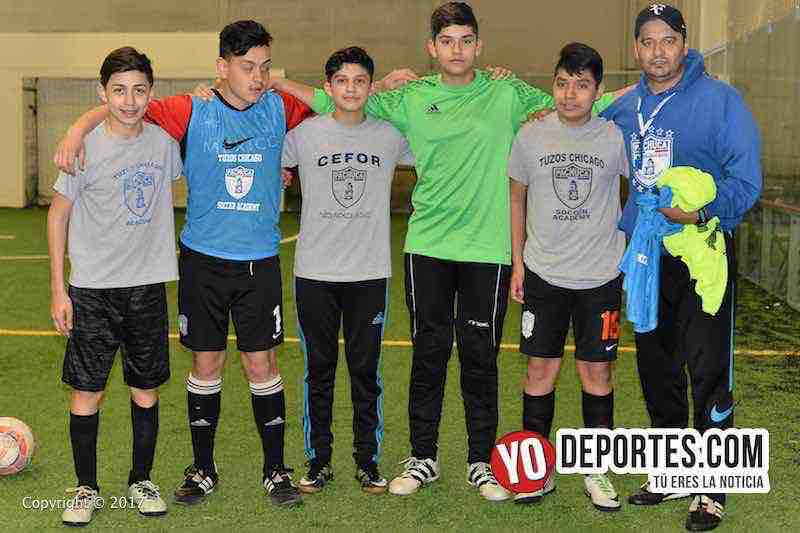 Rumbo a Pachuca-Tuzos Chicago Soccer Academy