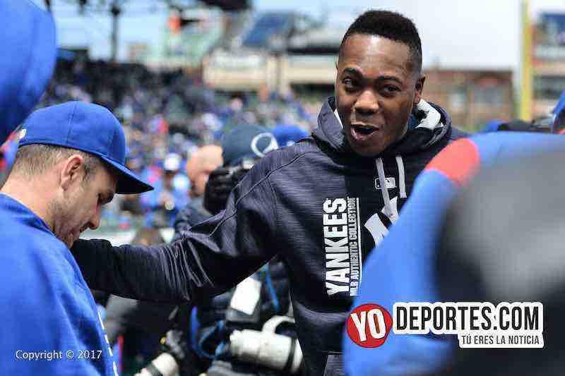 Aroldis Chapman-anillo-Cubs-Yankees
