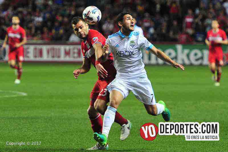 Nemanja Nikolic-Cristian Roldan-Chicago Fire 4-1 Seattle Sounders