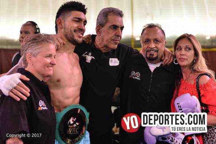Campeon WBC-Mike Hollywood Jimenez-Aaron Pryor Jr